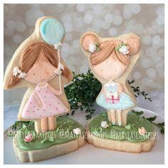 Girls Cookies // mayrascakepops