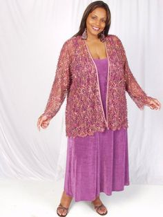 969a7d83994 Plus Size Special Occasion Jacket Pink Sequins Lace 22 24  Exquisite sequin  and bugle