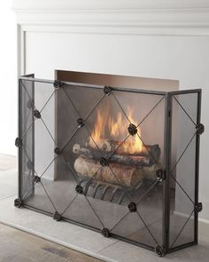 29 fascinating fireplace screens images fireplace screens fire rh pinterest com
