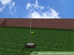 Image titled Make a Tether Ball Court Step 3