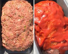 A juicy and moist keto meatloaf recipe. Your favorite classic style meatloaf made without the carbs. This is sure to be a favorite at dinner. Beef Recipes, Cooking Recipes, Healthy Recipes, Traditional Meatloaf Recipes, Comfort Food List, Meatloaf Ingredients, Low Carb Meatloaf, Pain Keto, Healthy Low Carb Dinners
