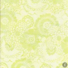 Bali Chop Scalloped Floral - Celery