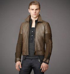 Belstaff - Leather & Melton Pendle Jacket