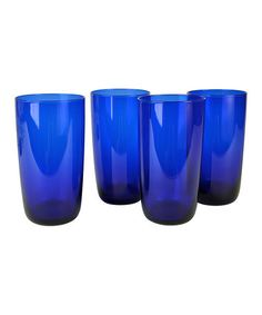Take a look at this Midnight Blue Highball Glass - Set of Four by Artland on #zulily today!