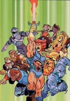 thundercats characters   Thundercats vs. Power Rangers - Battles - Comic Vine