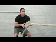 Increase the intensity of your workouts by training like a mixed martial arts (MMA) fighter. Doug Balzarini shows you his top five favorite exercises that he. Battle Ropes, Muscle Memory, Let It Out, Certified Personal Trainer, Mixed Martial Arts, Sport, Best Self, Ufc, Karate