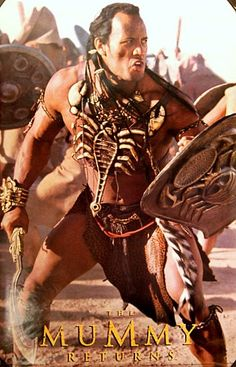 The Mummy Returns The Rock Scorpion King Movie Poster 23x35