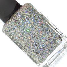 Holographic glitter nail polish - KESTER BLACK Comet