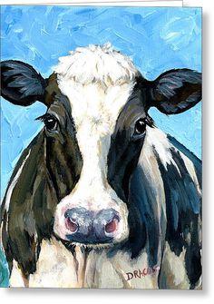 Holstein Cow 2 Farm Animal Art Original Painting Dottie Dracos No. 14 prin… Holstein Cow 2 Farm Animal Art Original Painting Dottie Dracos No. 14 print blue Any Age Unisex Art Original, Original Paintings, Holstein Cows, Cow Pictures, Farm Art, Cow Art, Animal Paintings, Paintings Of Cows, Cow Paintings On Canvas