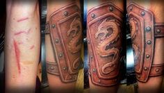 12 Coolest Tattoos Covering Scars