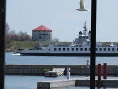 #Canada #Kingston Wolf Island ferry. Kingston, Ontario. Canada (photo taken by Jason Gruenberg)