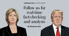Real-time fact checking and analysis of the first presidential debate - The Washington Post