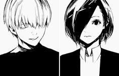 Ken Kaneki & Kirishima Touka | Tokyo Ghoul