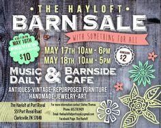 Spring Barn Sale Info Card