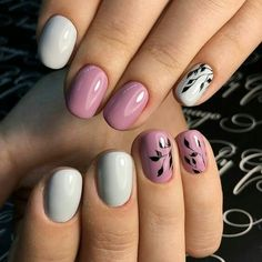 Nails are an important part from our everyday looks, so we should always try to have them polished and designed in the color that complement with our outfits. Also as the seasons are changing, the popularity of the nail colors… Read Different Types Of Nails, Different Nail Designs, Simple Nail Art Designs, Gel Nail Designs, Toe Nail Art, Nail Art Diy, Acrylic Nails, Nail Trends 2018, Manicure
