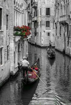 Canals of Venice, Italy. Italy Vacation, Italy Travel, Wonderful Places, Beautiful Places, Venice City, Gondola Venice, Places Around The World, Around The Worlds, Places To Travel