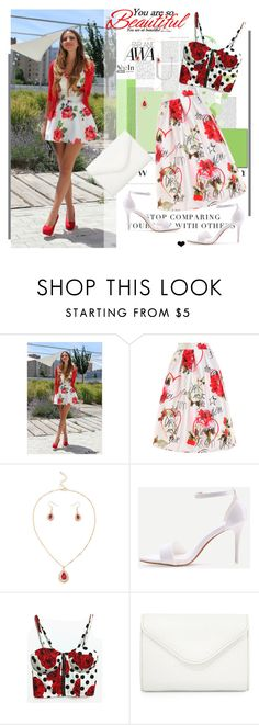 """""""You're So Beautiful!!! - Shein.com 7/5"""" by bebushkaj ❤ liked on Polyvore featuring WithChic and Neiman Marcus"""