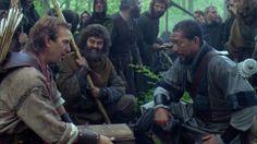 Kevin Costner, Nick Brimble, Morgan Freeman.