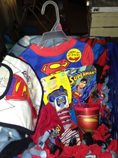 Superman Baby Shower Gift