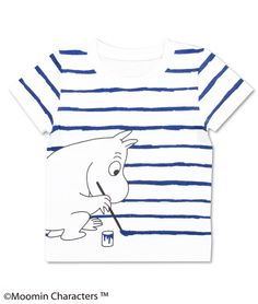 Moomin Short Sleeve(Painting Moomin)(KidsT)