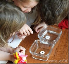 Use candy experiments to introduce kids to chemistry!