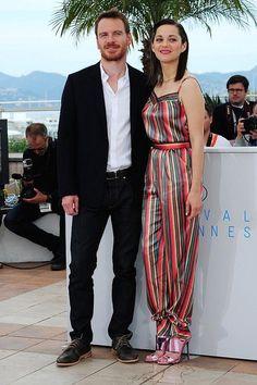 Michael fassbender y Marion cotillard cannes 2016.      La actriz Marion Cottiard sería ,según Jolie, con quien Brad Pitt la estaría engañando ......