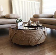 Tire furniture, Diy furniture, Diy ottoman, Home decor furniture, Upcycled furni.