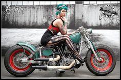 Victoria van Violence for Thunderbike (2012) by The Pixeleye Dirk Behlau    Via Flickr: www.thunderbike.de
