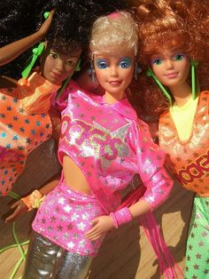 "Barbie & the Rockers! I loved these!! The curly redhead was my favorite and the I always thought of ""me"" when I played with her"
