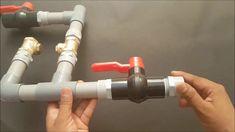Como fazer uma bomba de água sem uso de energia elétrica (Carneiro hidrá...