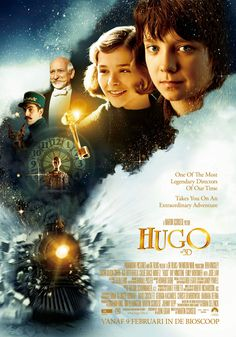 The Invention of Hugo Cabret was made into the Oscar-winning film 'Hugo' by Martin Scorsese. Streaming Movies, Hd Movies, Movies Online, Movie Tv, Hd Streaming, Indie Movies, Action Movies, Watch Movies, Martin Scorsese