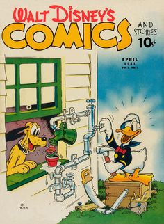 Cover for Walt Disney's Comics and Stories (Dell, Apr 1941) Vol. 1, N° 7