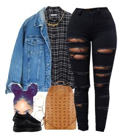 """""""Funny you're the broken one, but I'm the one that needed saving """" by beautiful-sinnerr ❤ liked on Polyvore featuring 6397, Linda Farrow, MCM and Puma"""
