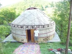 Jurta-Jurte-aus-Kirgisien-kirgistan-Kasachstan-5-5m-Yurta-Filz-Yurt-Ger