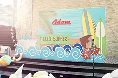 Adam's Surf's Up Summer Party – Stage
