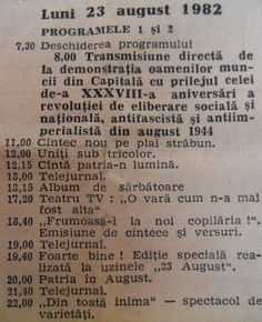 23 August, Adolescence, My Childhood, Country, Tv, Rural Area, Television Set, Country Music, Television