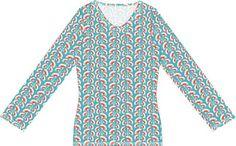 Dames basis shirt in de maten XS tot en met L.   Materialen:  * Tricot -  Froy & Dind - Nice Grey  (Stofbreedte: 140 cm)   - 140...