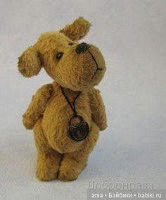 Песик Бимка Тедди. Авторская выкройка игрушки Федоровой Светланы (Добронрава)