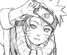 Image about anime in Naruto by in the middle on We Heart It Naruto Fan Art, Naruto Drawings, Sketches, Naruto Uzumaki, Anime Drawings Sketches, Naruto Sketch, Anime Sketch, Anime, Art Sketches