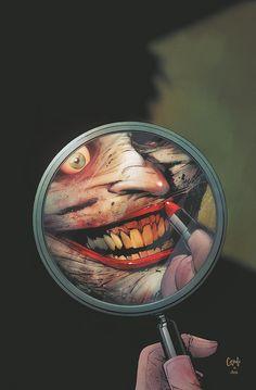 Joker (BATMAN #13) Cover Art by Comic Artist Greg Capullo Comics illustration Drawing