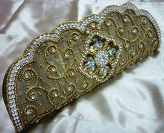 2aecdf261088 clutch purse antique gold color rhinestone india hand bag bridal party  wedding Christmas Gift