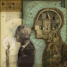 Mixed Media Collages - Lars Henkel