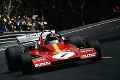 F1 1973 - Spanish GP - Montjuic - Ferrari 312B3 Spazzaneve - Jacky Ickx