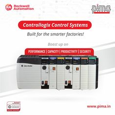 Prepare for the factories of the future with Rockwell Controllogix Control Systems. Get it today with Pima Controls! Rockwell Automation, Factories, Control System, Home Appliances, Future, Building, House Appliances, Future Tense, Buildings