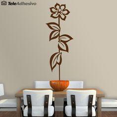 Vinilo decorativo floral. #decoracion #teleadhesivo