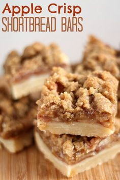 Apple Crisp Shortbread Bars | Community Post: 21 Amazing Ways To Eat Shortbread Year-Round