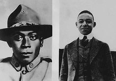 Henry Johnson and Needham Roberts were  the 1st Americans to be awarded the French Croix de Guerre, France's highest military award  for their World War I Heroism.  Johnson  Roberts were manning a 2 man outpost when German patrol, estimated at more than 20 men, attacked with grenades. Wounded, both Americans emptied their weapons and Roberts, who was wounded in his hip or knee and unable to stand, tossed grenades to Johnson who hurled them at the enemy patrol to keep the attackers away.
