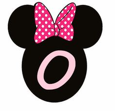 Abc Rosa en Cabezas de Minnie. Minnie Heads Pink Abc. Minnie Mouse Birthday Theme, Minnie Baby, Mickey Mouse Parties, Minnie Mouse Images, Machine Applique, Happy Birthday Banners, Pop Up Cards, Floral Centerpieces, Birthday Party Decorations