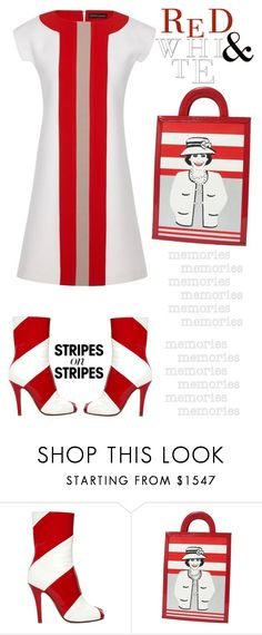 """Pattern Challenge: Stripes on Stripes"" by emcf3548 ❤ liked on Polyvore featuring Maison Margiela, Chanel, Jonathan Saunders, stripesonstripes and PatternChallenge"