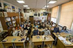 Russia | For World Teachers' Day, A Look At What Classrooms Look Like Across The Globe - BuzzFeed News